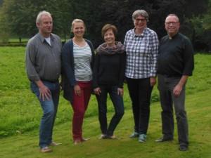 von links: Klemens Reith, Julia Brodersen-Schäfers, Agnes Wuckelt, Monika Winzenick, Ludger Eilebrecht