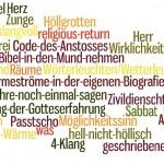 Leuchtende Wörter. Ergebnisse der Tgaung und der Workshops.