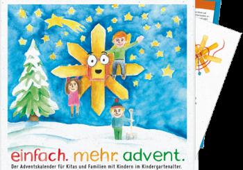 einfach.mehr.advent – Der neue dkv-Adventskalender für Familien