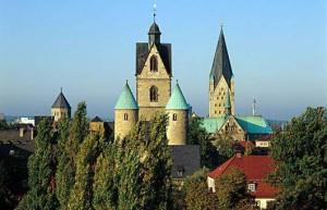 Ansicht Paderborner Kirchen