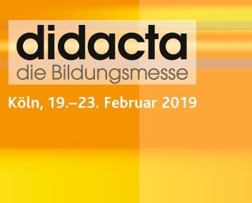 Besuchen Sie vom 19. bis 23. 02. den dkv auf der didacta in Köln