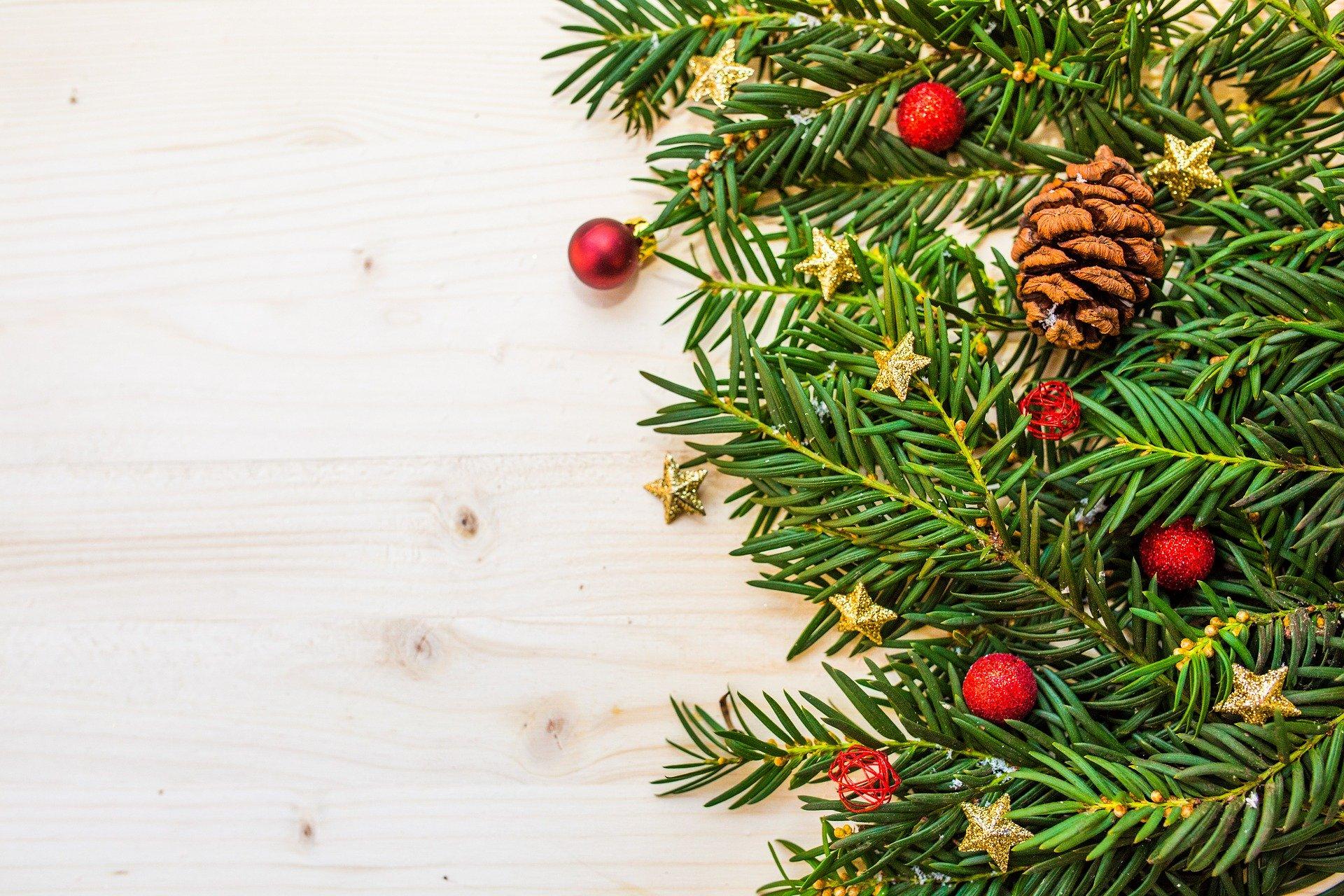 Frohe Weihnachten und ein gesegnetes neues Jahr 2020