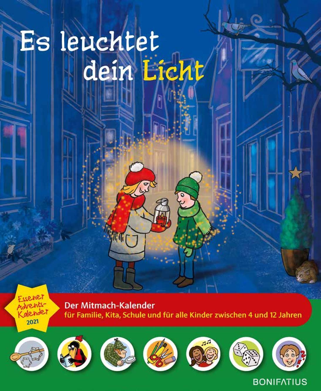 """Jetzt vorbestellen: """"Es leuchtet dein Licht"""" – Der Essener Adventskalender 2021"""